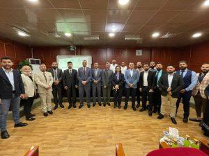 لجنة عمداء كليات طب الاسنان تكرم الطلبة الاوائل على العراق